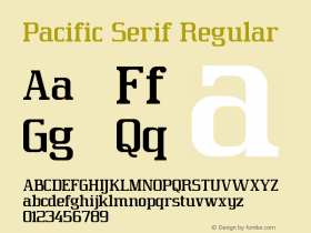 Pacific Serif