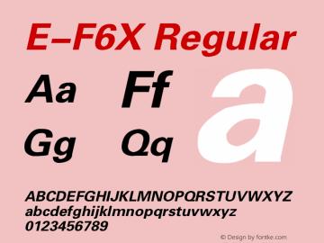 E-F6X