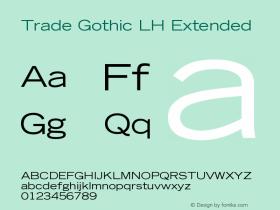 Trade Gothic LH