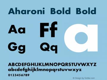 Aharoni Bold