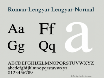 Roman-Lengyar