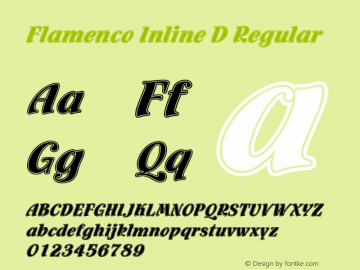Flamenco Inline D