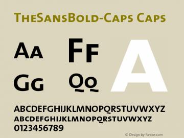 TheSansBold-Caps