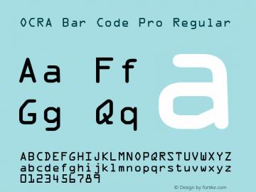 OCRA Bar Code Pro