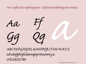 Hu-CaflischScriptRegular