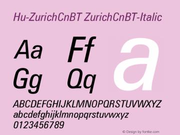 Hu-ZurichCnBT