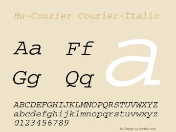 Hu-Courier