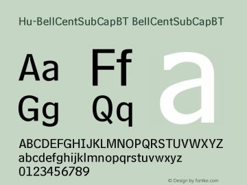 Hu-BellCentSubCapBT