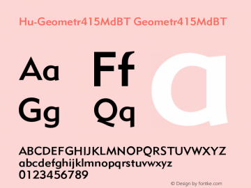Hu-Geometr415MdBT
