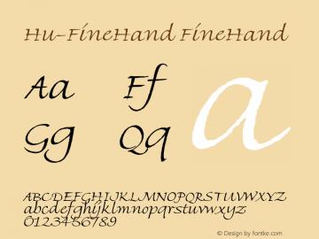 Hu-FineHand
