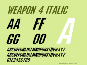 Weapon 4