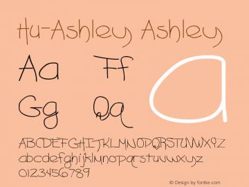Hu-Ashley