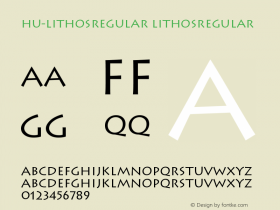 Hu-LithosRegular