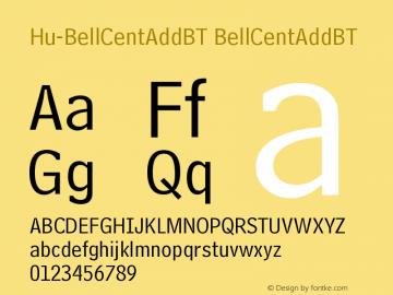 Hu-BellCentAddBT