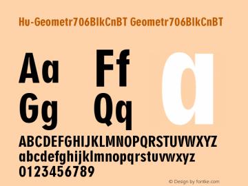 Hu-Geometr706BlkCnBT