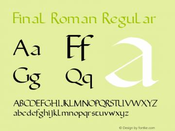 Final Roman