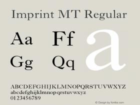 Imprint MT