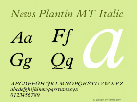 News Plantin MT