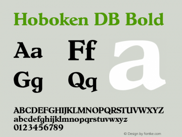 Hoboken DB