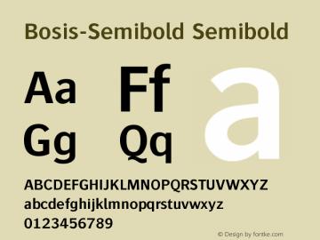 Bosis-Semibold