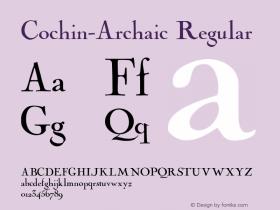 Cochin-Archaic