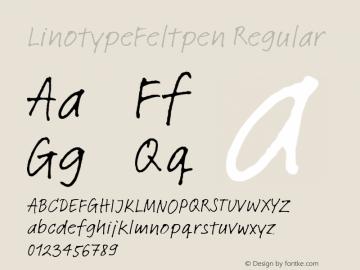 LinotypeFeltpen