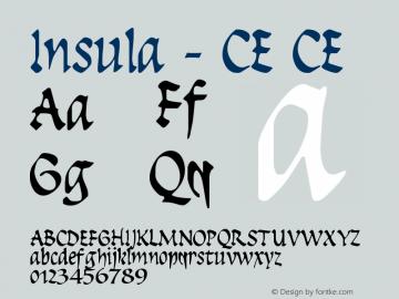 Insula - CE