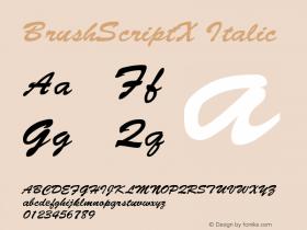 BrushScriptX