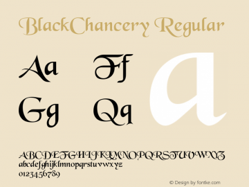 BlackChancery