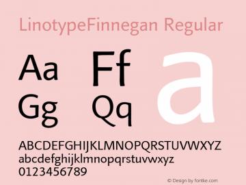LinotypeFinnegan