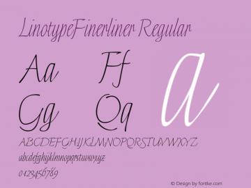LinotypeFinerliner