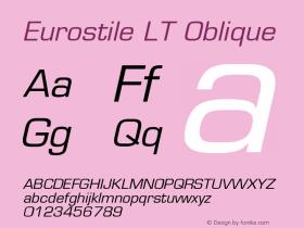 Eurostile LT