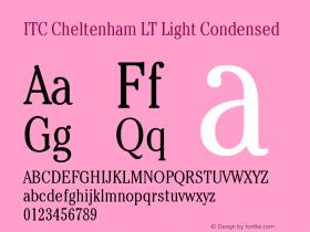ITC Cheltenham LT