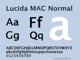 Lucida MAC