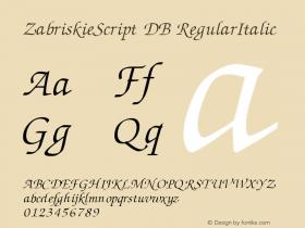 ZabriskieScript DB