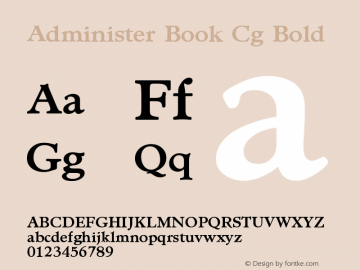 Administer Book Cg