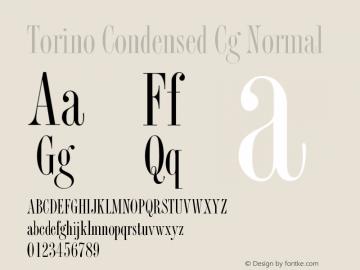 Torino Condensed Cg