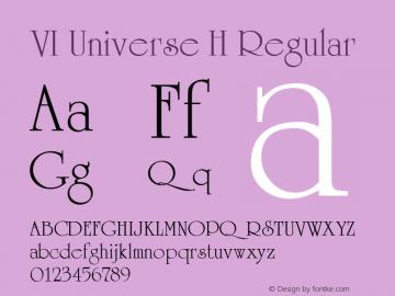 VI Universe H