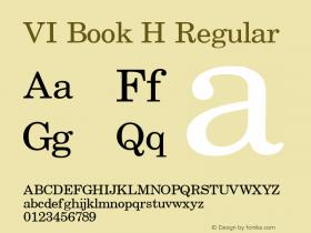 VI Book H