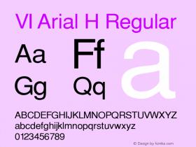 VI Arial H