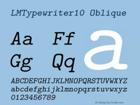 LMTypewriter10