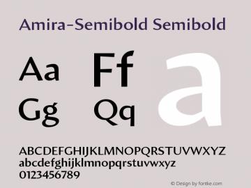 Amira-Semibold