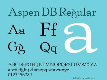 Aspen DB