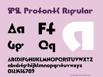 SPSL ProfontC