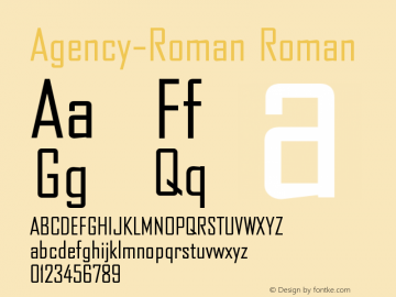 Agency-Roman
