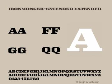 Ironmonger-Extended