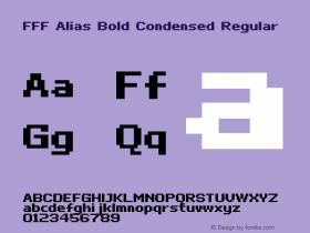 FFF Alias Bold Condensed