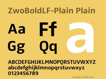ZwoBoldLF-Plain