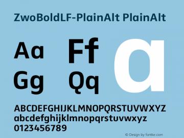 ZwoBoldLF-PlainAlt