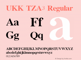 UKK TZA3